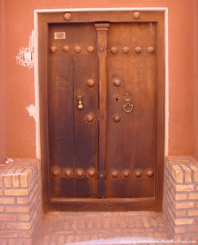 Abyaneh Door