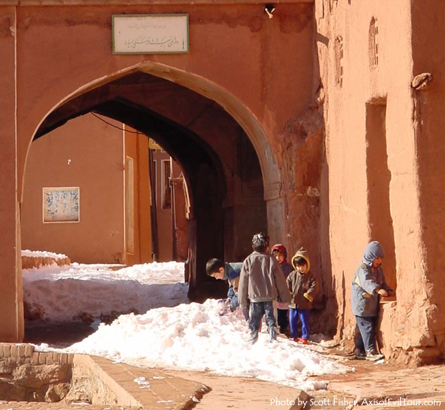 Kids in Abyaneh