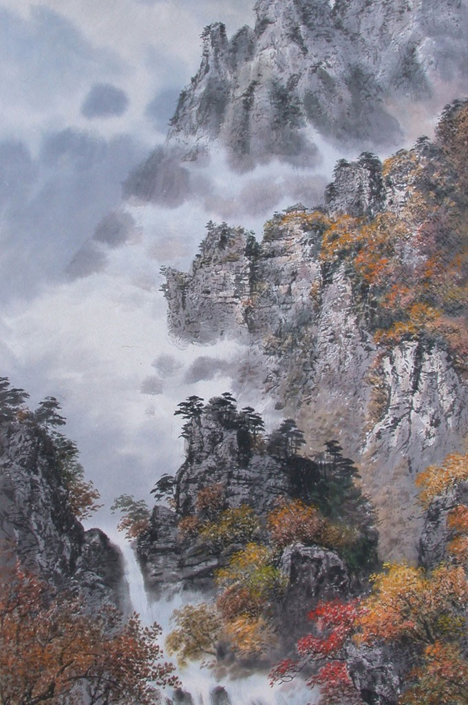Gim Guang Un  - Autumn in Mt. KumGang