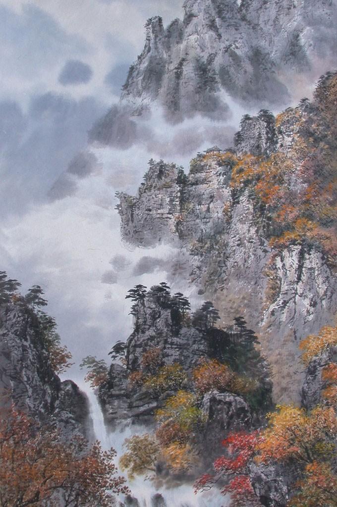 Gim Guang Un  - Autumn in Mt. KumGang